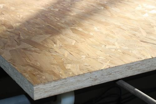 High Density MR OSB Board For Flat Roof , Commercial Grade OSB Timber Sheets